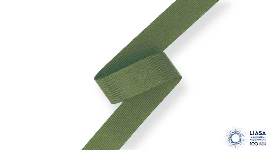 Ruban gros grain en polyester 100% recyclé