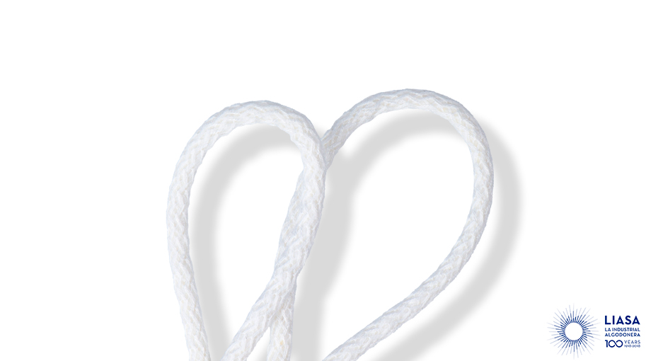 Cordones redondos trenzado estándar deviscosa