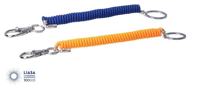 Cordones en espiral para llaveros (LIAFLEX)