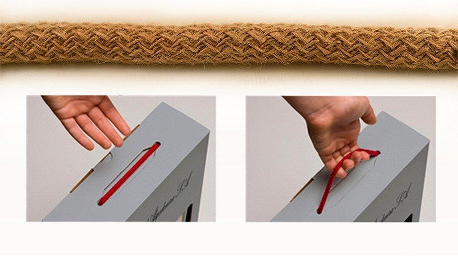Cordones elásticos de yute especial packaging (YELASTIC)