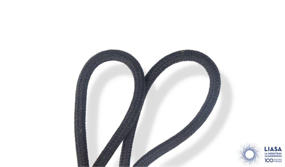 Cordones redondos trenzado clásico de poliamida