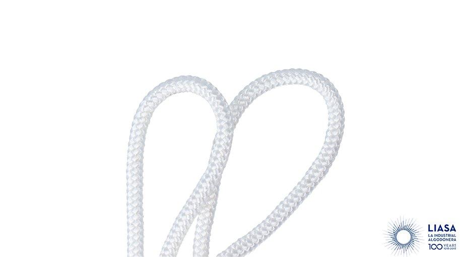 Cordones redondos trenzado clásico de poliéster de alta tenacidad