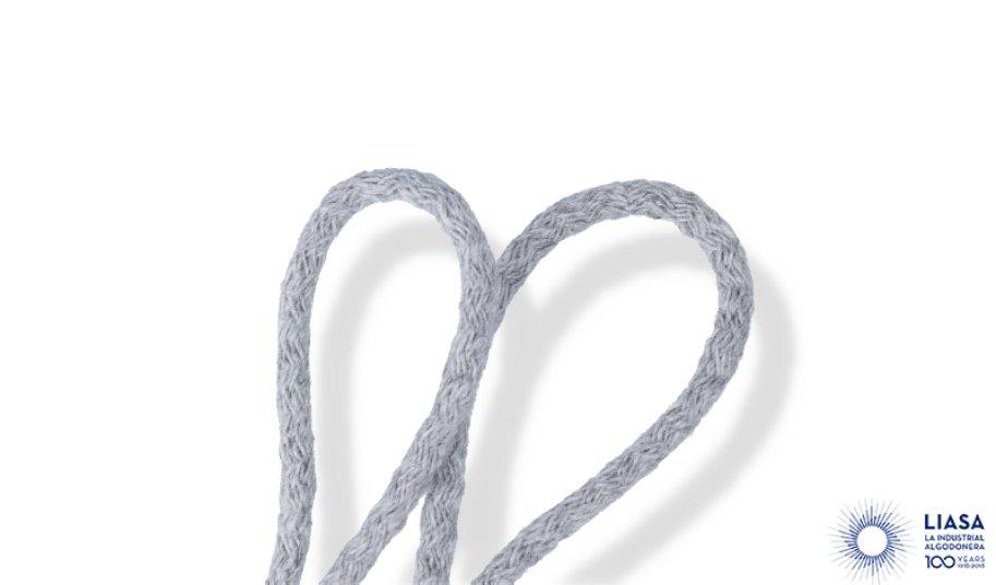 Cordones redondos trenzado estándar de algodón para calzado