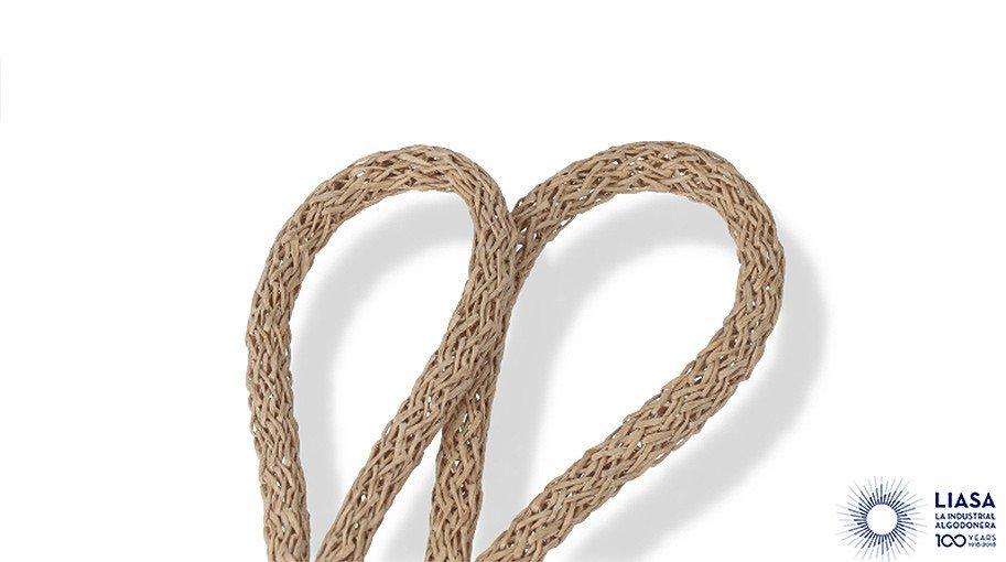 Cordons rodons trenat estandar de paper