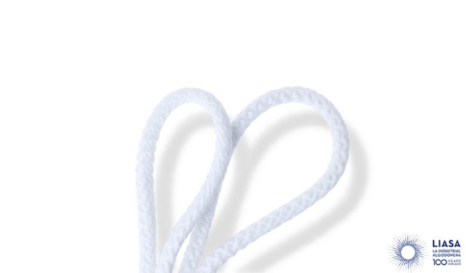 Cordones redondos trenzado estandar de polipropileno y alma micro fibra