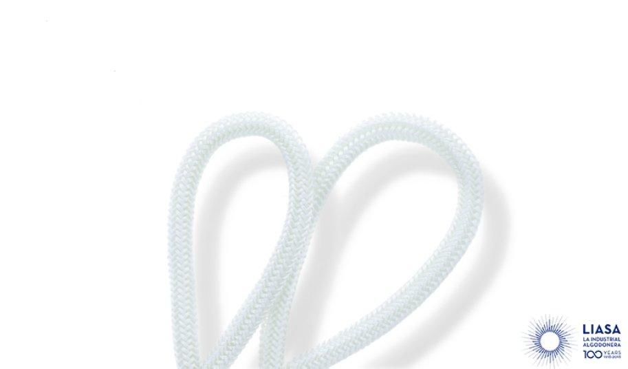Cordones redondos trenzado luxe de fibra de vidrio
