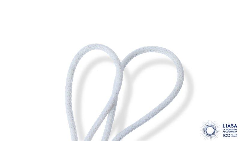 Cordones redondos trenzados de polietileno monofilamento