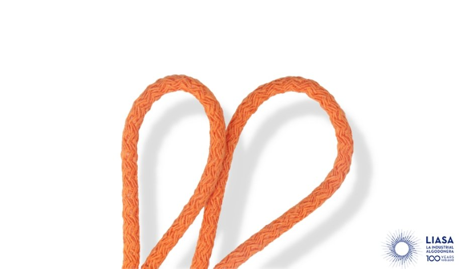 Cordons semi-rigides tressage standard en coton