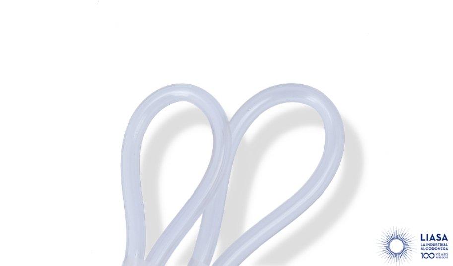 Tubicino in plastica transparente
