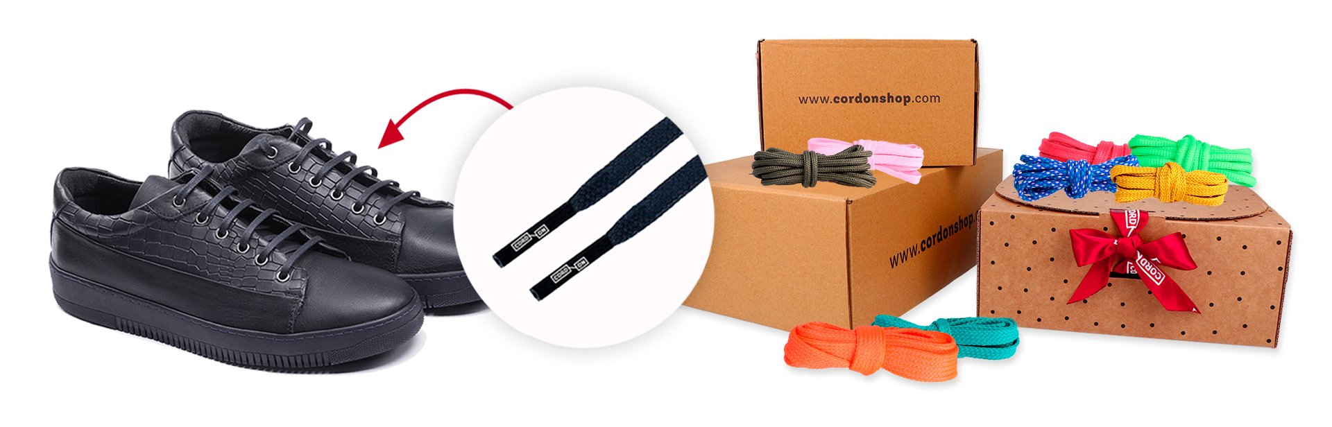 Do you need a new pair of shoelaces? Cord-On Shop is your place